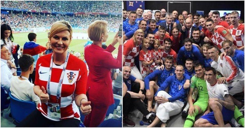 Президент Хорватии на русском языке поблагодарила Россию за Чемпионат мира видео, колиндa грабар-китарович, президент, президент хорватии, спорт, футбол, чемпионат мира