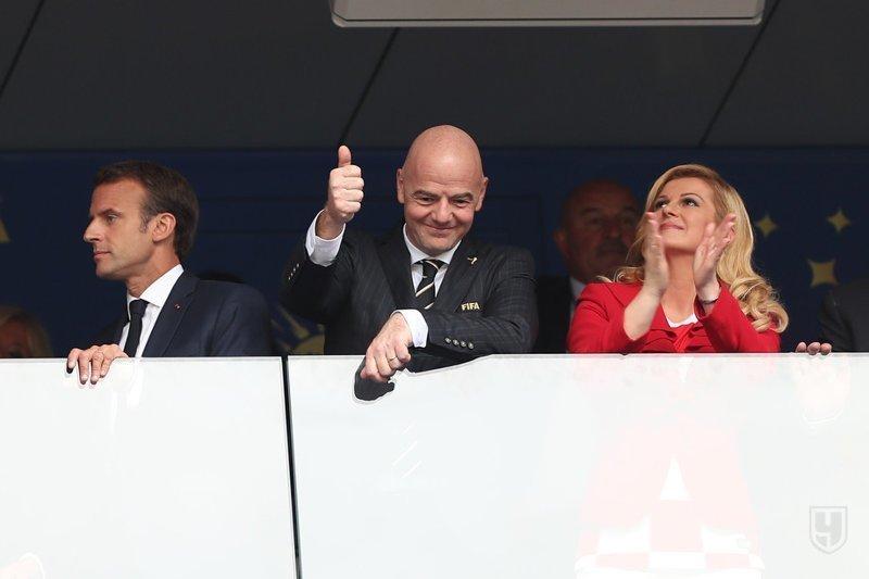 VIP-Зрители (портрет Черчесова сзади) Франция, спорт, футбол, чм2018