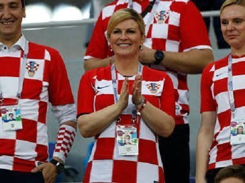 Президент Хорватии покорила мир своим спортивным азартом!
