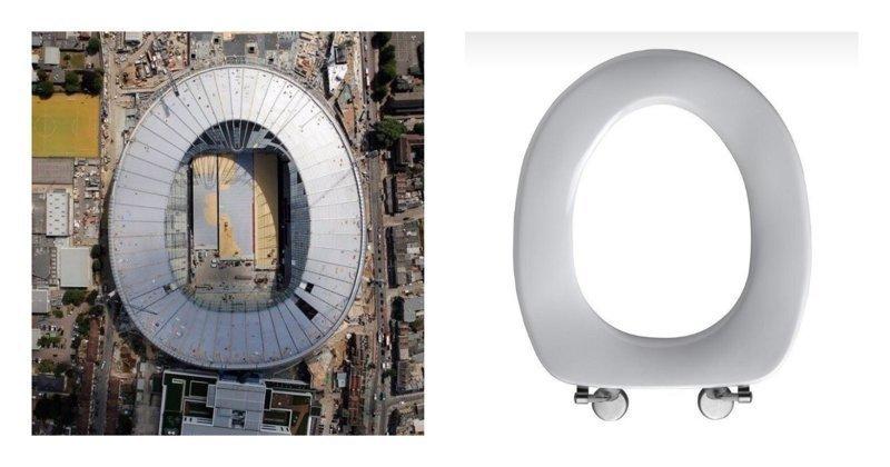 """Похож на туалет: пользователи соцсетей высмеяли новый стадион английского клуба """"Тоттенхэм"""" spursnewstadium, tottenham, ynews, Англия, стадион, строительство"""