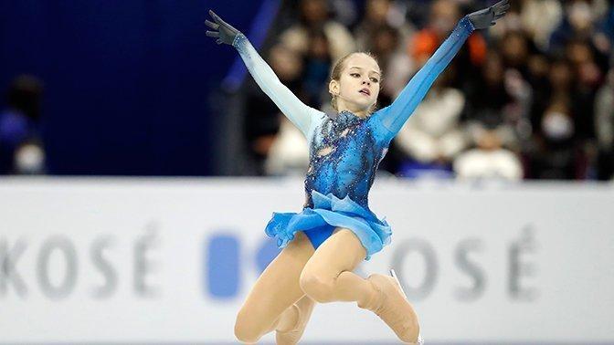 14-летняя российская фигуристка впервые в истории исполнила три четверных прыжка александра трусова, видео, девушки, спорт, факты, фигурное катание