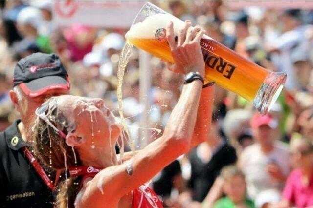 Как спортсмены обмывают победы алкоголь, спорт, факты