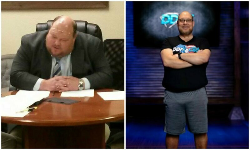 Мужчина скинул 90 килограммов за один год, найдя нужную мотивацию до и после, здоровый образ жизни, истории, лишний вес, люди, спорт, трансформация, фото