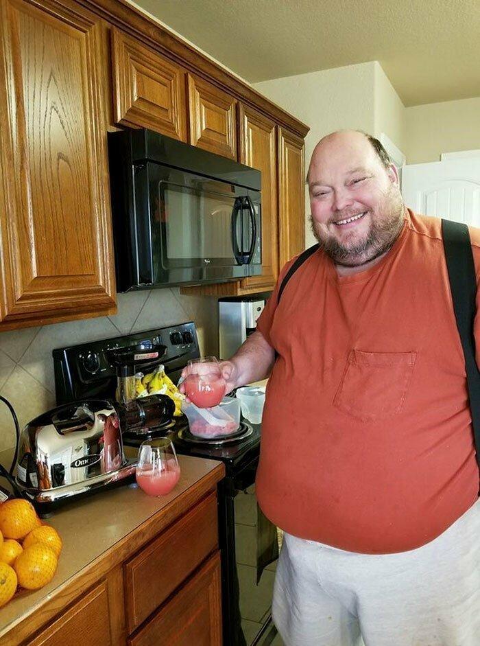 Вэнс перешел на здоровое питание - фотографиями своих приемов пищи он делится с подписчиками в Twitter до и после, здоровый образ жизни, истории, лишний вес, люди, спорт, трансформация, фото