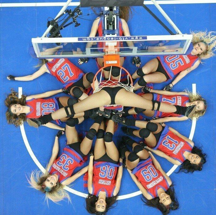 Группа поддержки баскетбольного клуба ЦСКА баскетбол, группы поддержки, девушки, красивые девушки, подборка, спорт, хоккей