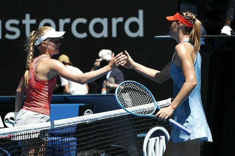 Мария Шарапова стартовала на Australian Open, сокрушив британскую теннисистку 6:0, 6:0 спорт, тенис, шарапова