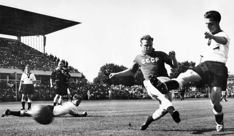 Сборная СССР по футболу на Олимпиале в Мельбурне, 1956 год