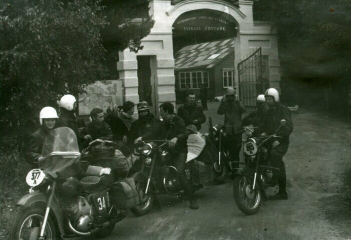 Сборная Ленинграда по мотокроссу, 1970 год