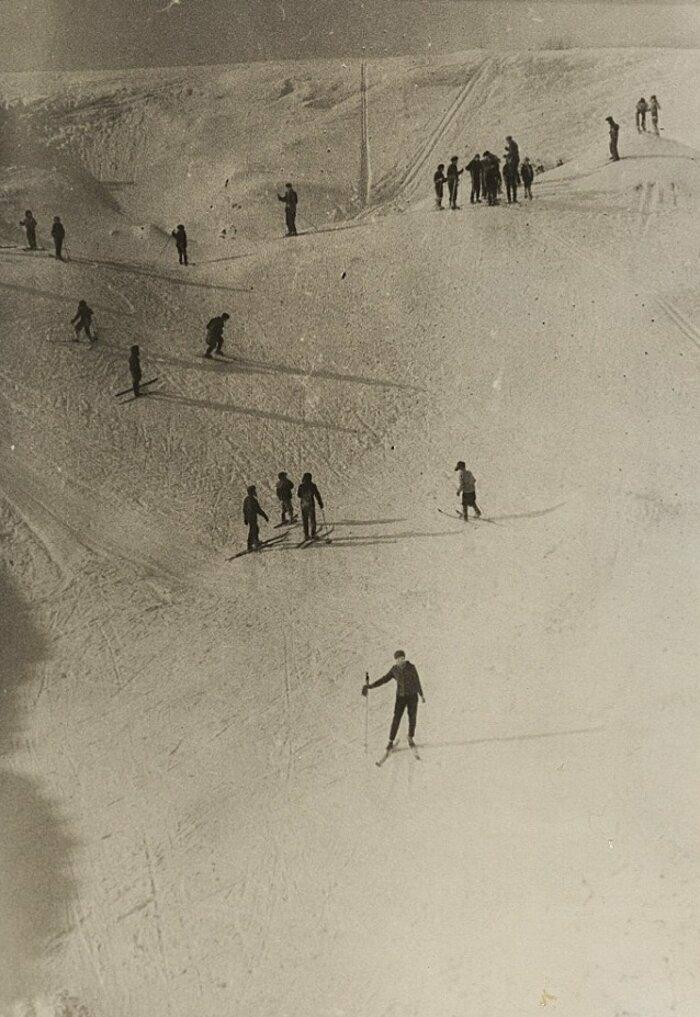 Песчаный карьер в Лобне, 1964 год