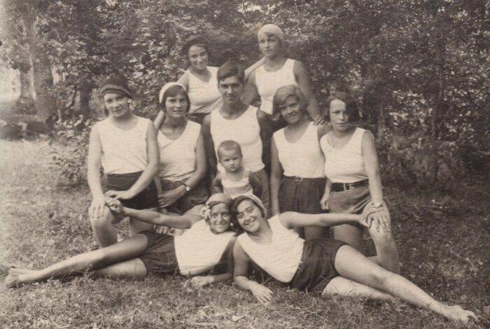 Секция плавания, Ленинград, 1929 год