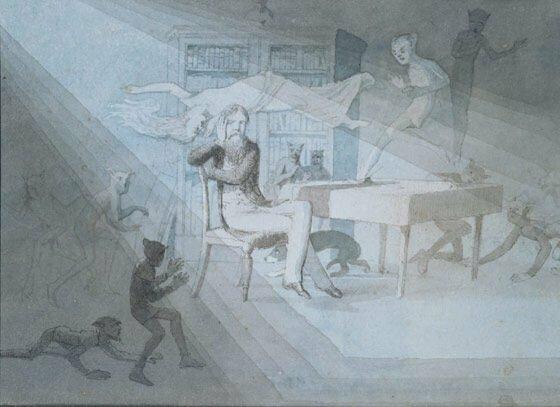 Автопортрет Чарльза Дойла артур конан дойль, история, литература, спорт