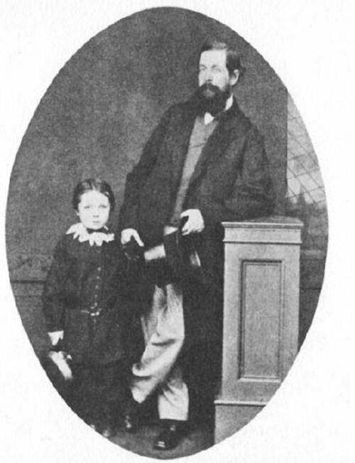 Артур в 6 лет с отцом артур конан дойль, история, литература, спорт