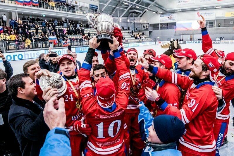 Сборная России по хоккею с мячом выиграла чемпионат мира видео, новости, спорт, хоккей с мячём