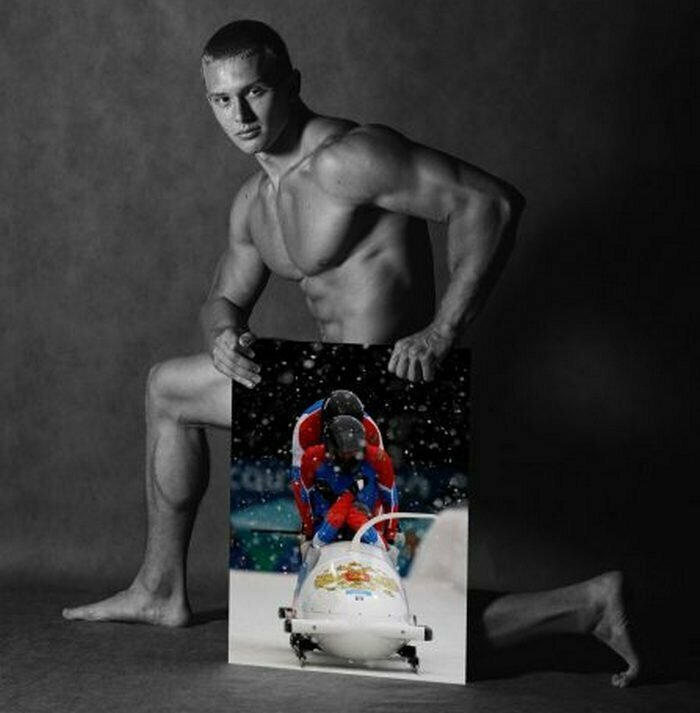 Михаил Мордасов, бобслей Сочи, голые, люди, олимпийцы, спорт, фотопроект, фотосессия