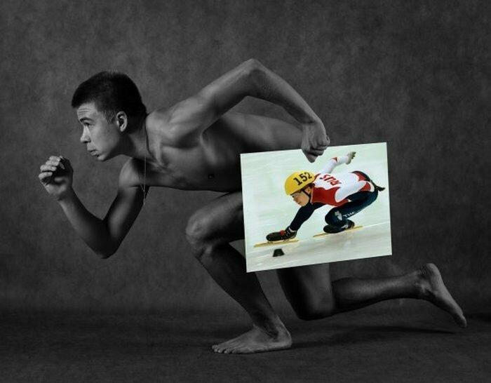 Семен Елистратов, шорт-трек Сочи, голые, люди, олимпийцы, спорт, фотопроект, фотосессия