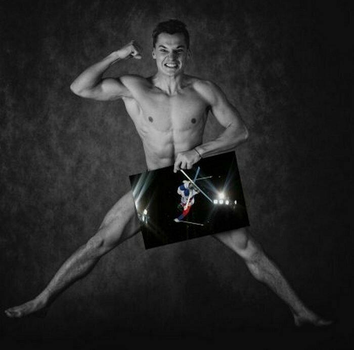 Егор Ануфриев, могул Сочи, голые, люди, олимпийцы, спорт, фотопроект, фотосессия