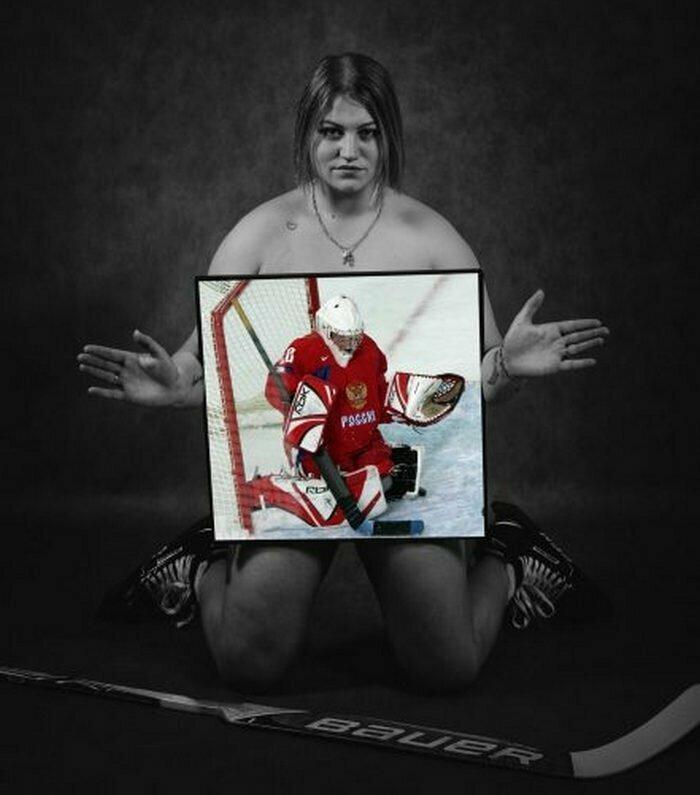 Надежда Морозова, хоккей