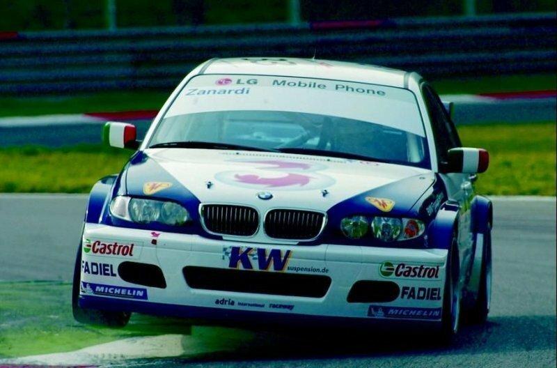 Первыми соревнованиями, где выступал Занарди после травмы, был Европейский чемпионат по кузовным автогонкам (ETCC) в 2003 году авто, автомобили, автоспорт, алессандро занарди, гонки, гонщик, инвалид, спорт