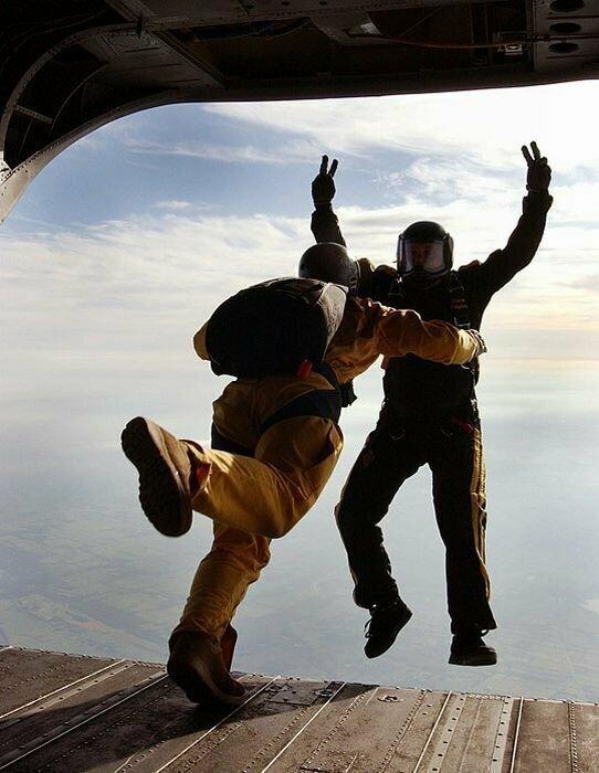 Парашютисты парашютист, спорт, факты