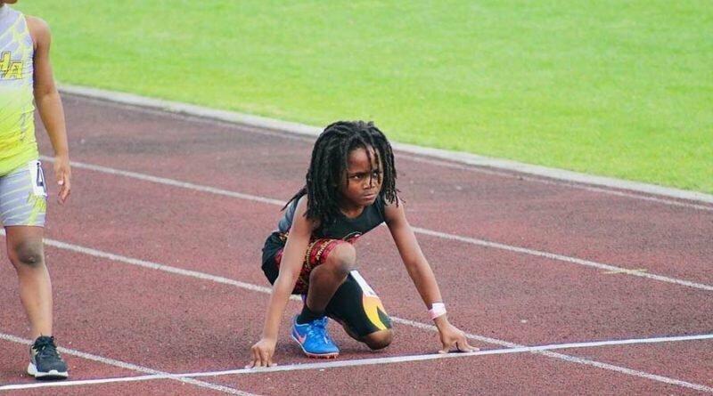 Рудольф Ингрэм — самый быстрый 7-летний мальчик в мире, пробегающий 100-метровку за 13,48 секунд