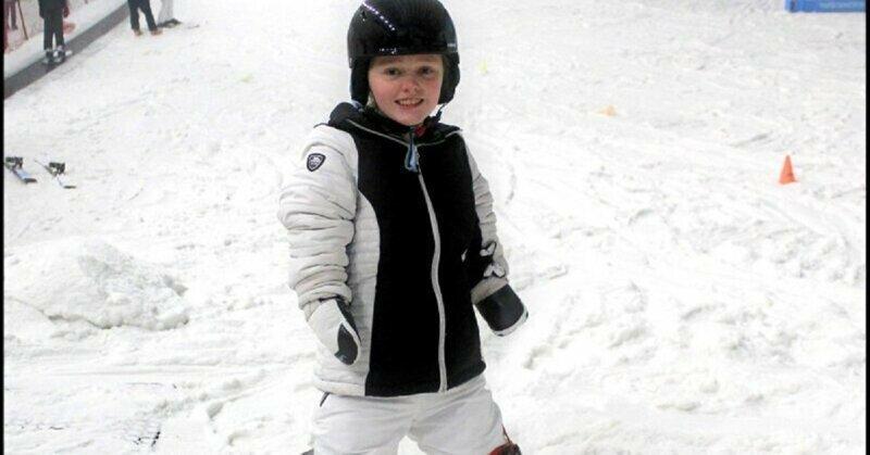 14-летняя девочка в очередной раз доказывает, что для людей сильных духом не существует преград великобритания, девочка, история, ограниченные возможности, сноуборд, спорт, элли чаллис