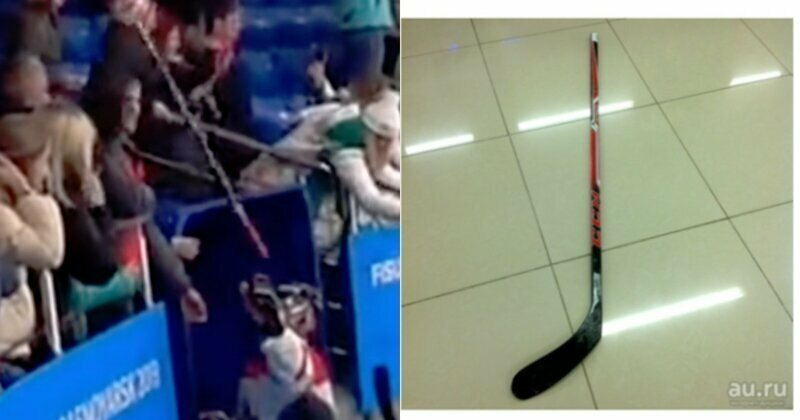 На Универсиаде болельщик отобрал у хоккеиста клюшку и продал ее за 40 тысяч