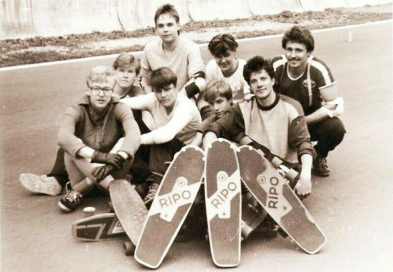 Скейтборд в СССР СССР, история, скейт, спорт