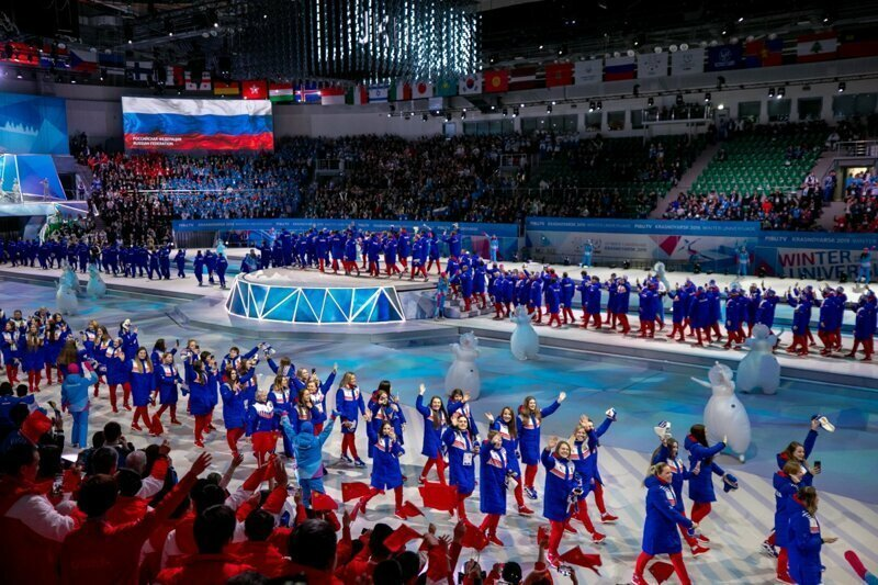 Россияне выиграли Универсиаду с отрывом почти в 100 наград красноярск, победа, сборная  россии, спорт, универсиада 2019