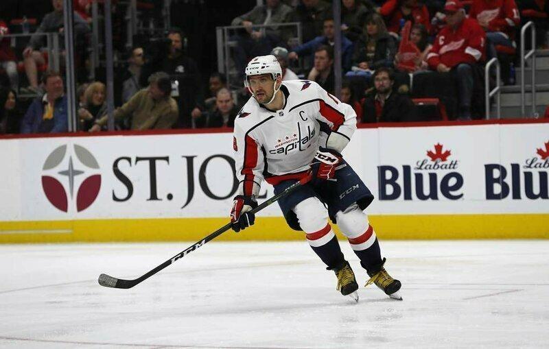 Александр Овечкин признан первой звездой дня в НХЛ овечкин, спорт, хоккей