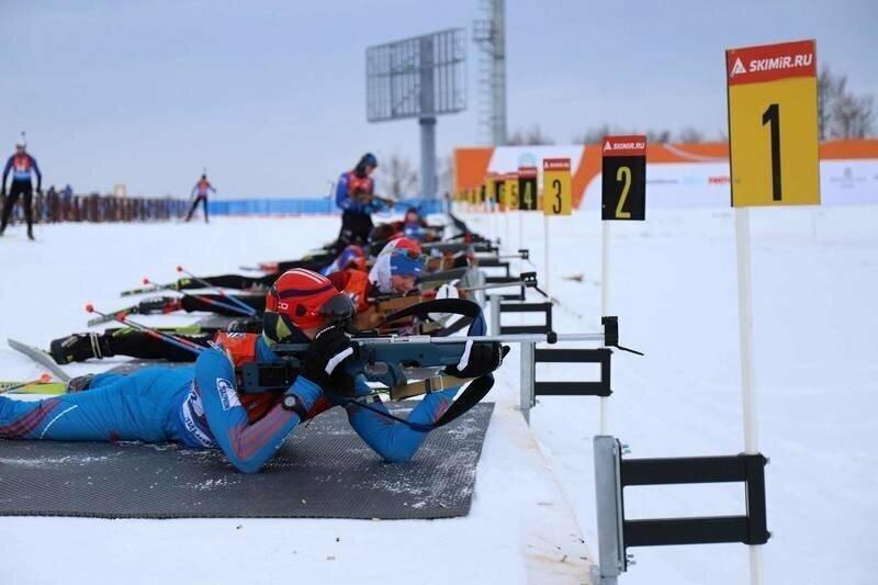 Новый биатлонный комплекс на юге Сахалина принимает первые крупные соревнования