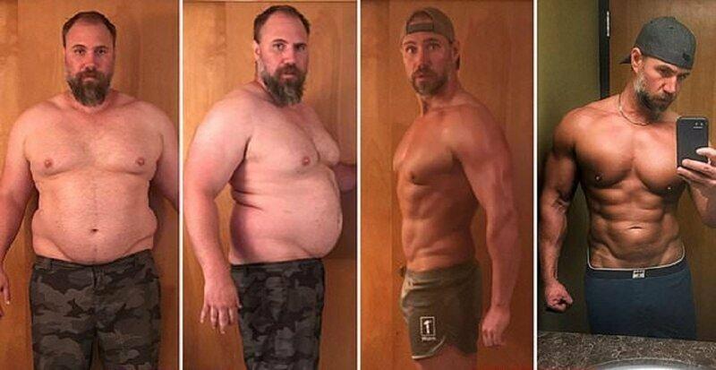 Отец сбросил 40 килограммов за 5 месяцев, чтобы не отставать от детей диета, кетогенная диета, отцовский подвиг, похудение, сбросить вес, сила воли плюс характер, спорт, фигура
