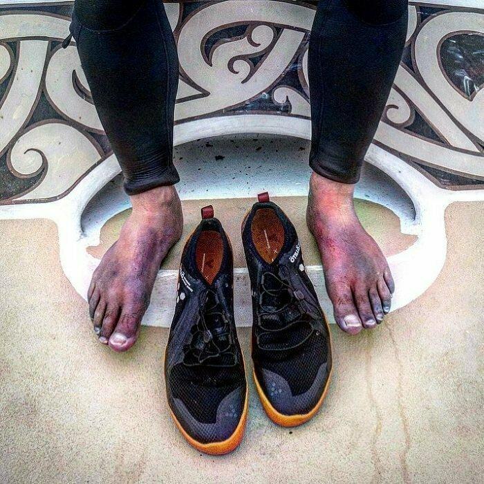 Ноги пловцов