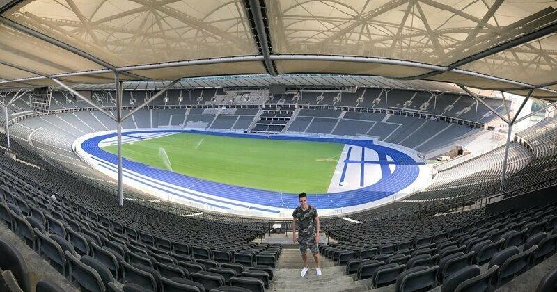 Берлин. Олимпиаштадион Германия, берлин, спорт, стадион, футбол