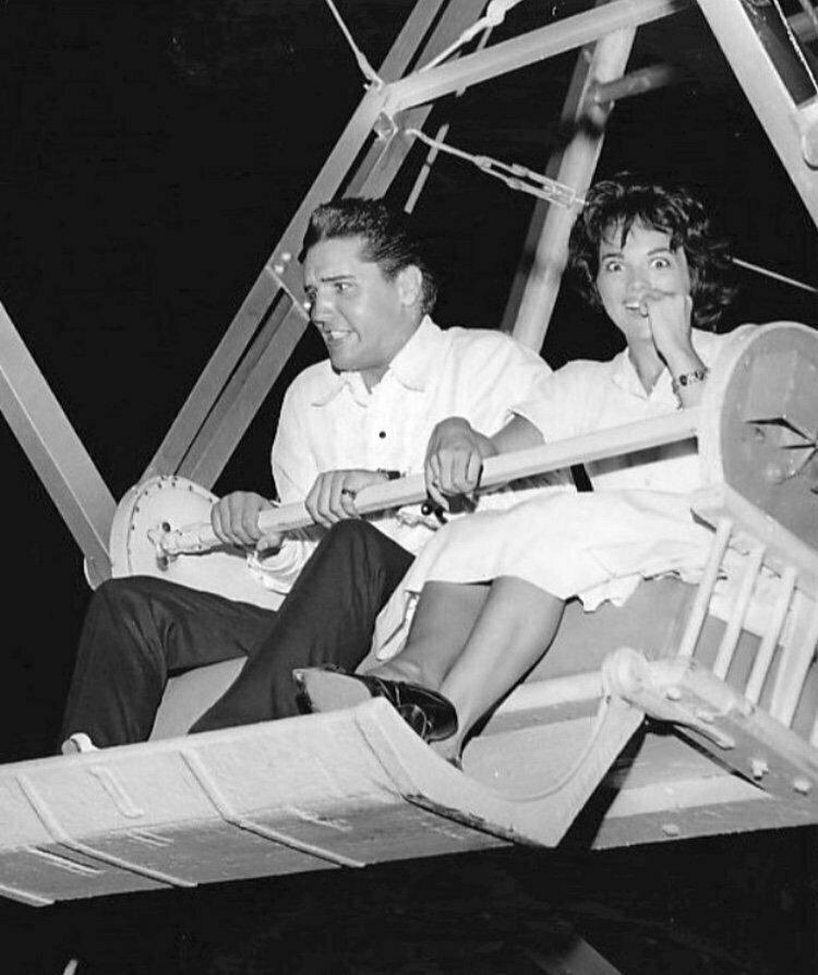 Анита Вуд и Элвис Пресли знаменитости, кино, спорт, фото, фотографии, шоубизнес, эстрада