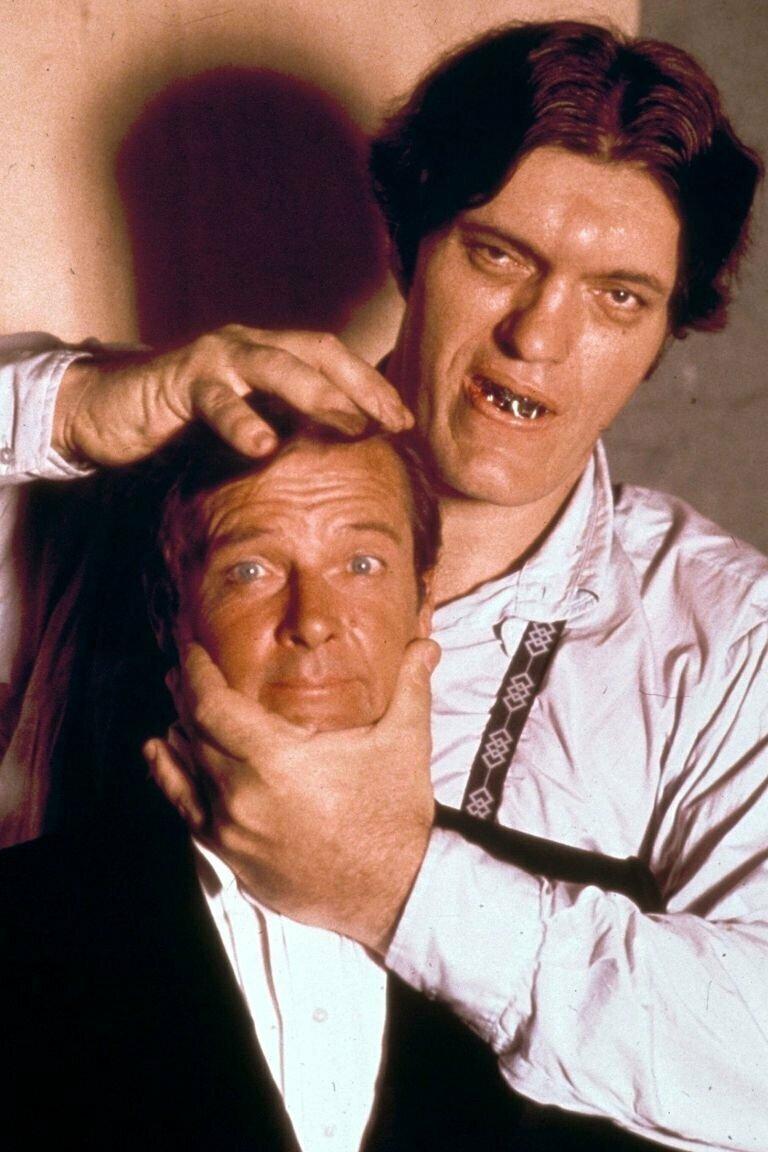 Роджер Мур и Ричард Кил. Шпион, который меня любил. знаменитости, кино, спорт, фото, фотографии, шоубизнес, эстрада