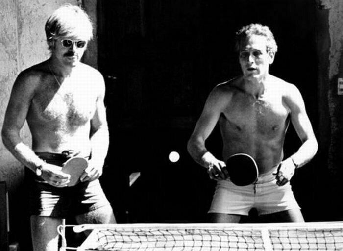 Роберт Редфорд и Пол Ньюмен знаменитости, кино, спорт, фото, фотографии, шоубизнес, эстрада