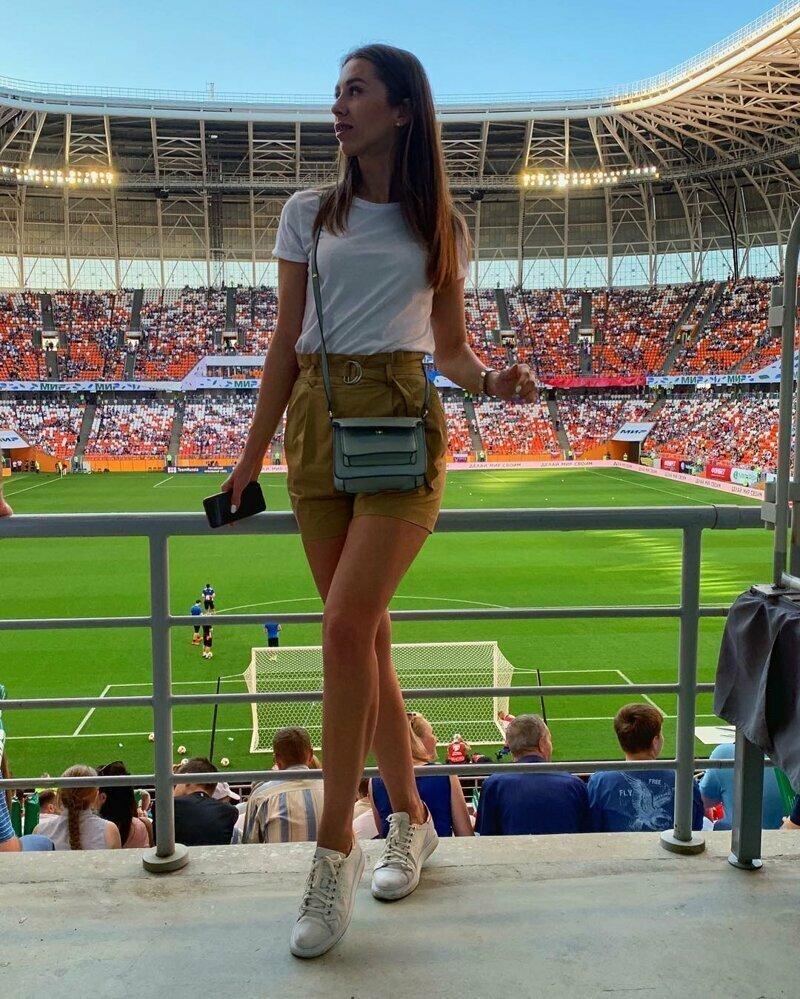 6. Саранск, болельщицы, девушки, россия, сан-марино, спорт, стадион, футбол