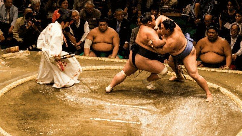 Сумо — это борьба богов и императоров интересно, спорт, сумо, факты