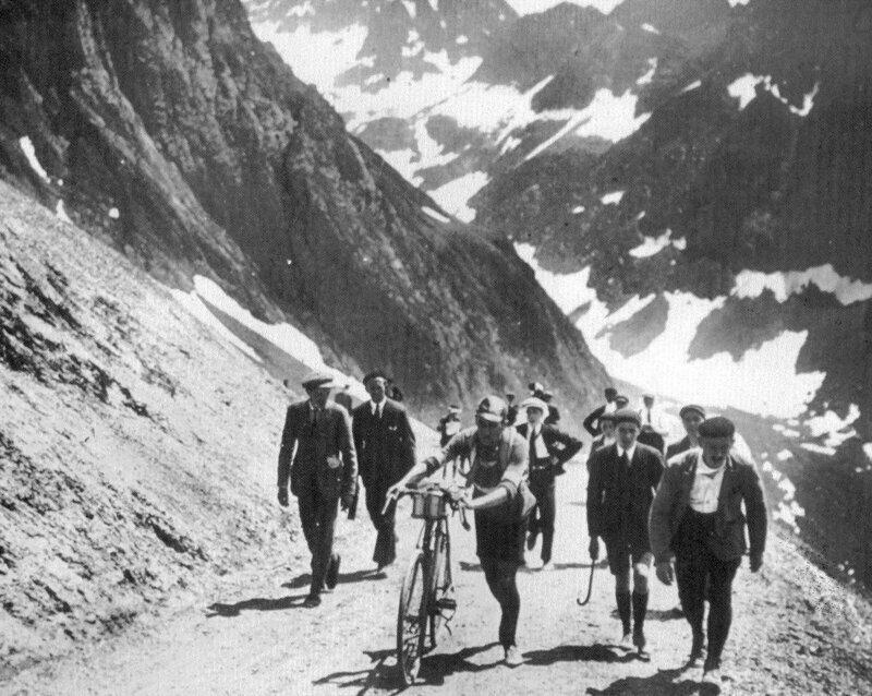 "Эжен Кристоф на ""Тур де Франс"" 1913 года, Франция"