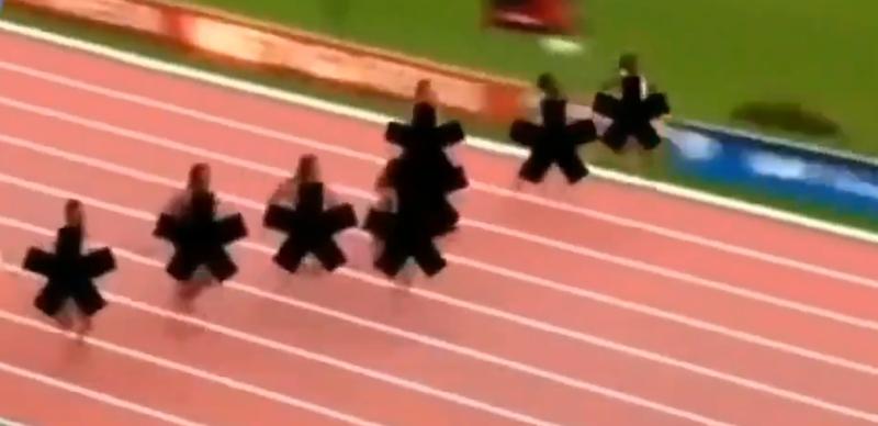 Иранское телевидение рассмешило интернет-пользователей видео с соревнований по легкой атлетике
