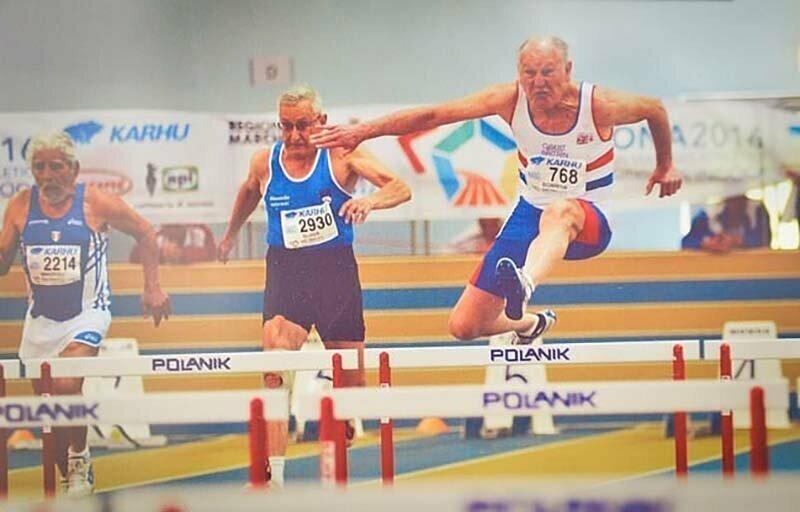 Самый быстрый дедушка в мире ждёт своего 85 летия, чтобы бить новые рекорды