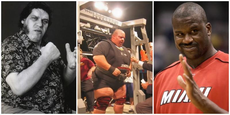 Самые огромные и знаменитые спортсмены в истории