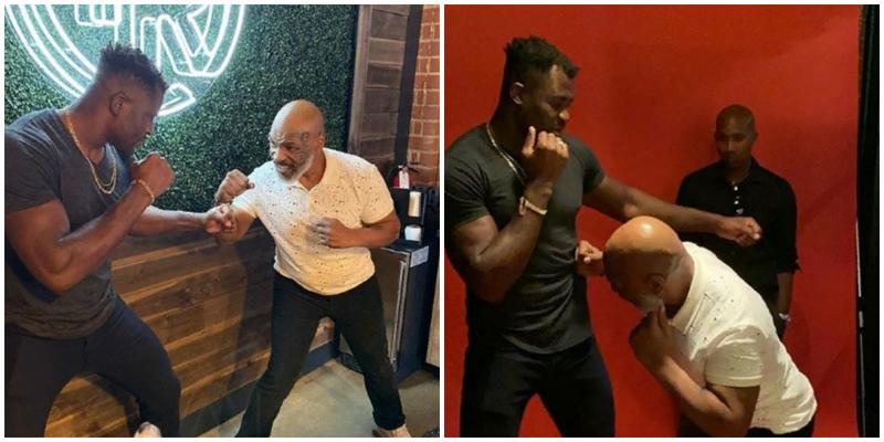Майк Тайсон согласился подготовить Франсиса Нганну к бою с Фьюри
