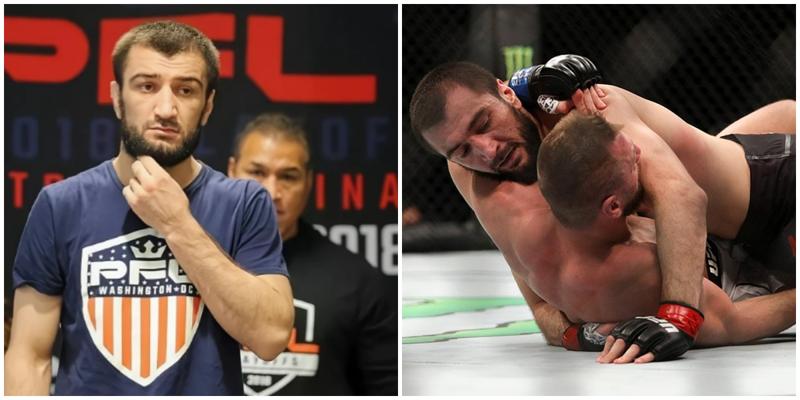 Брат Нурмагомедова сдался бойцу с одной почкой, провалив первый бой в UFC