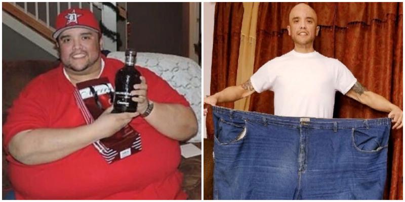 Толстяк сбросил 215 килограмм и стал спорстменом