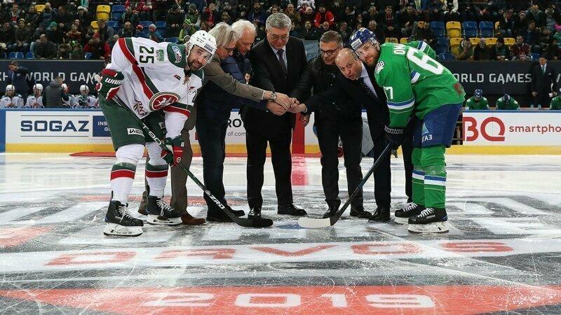 На матче КХЛ в Швейцарии так и не смогли включить гимн России