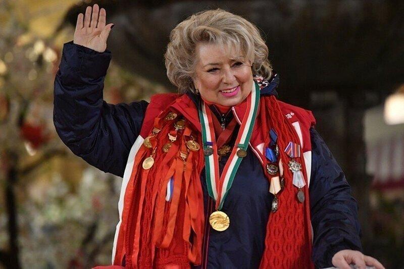 Знаменита фигуристка и тренер Татьяна Тарасова показала себя в молодости