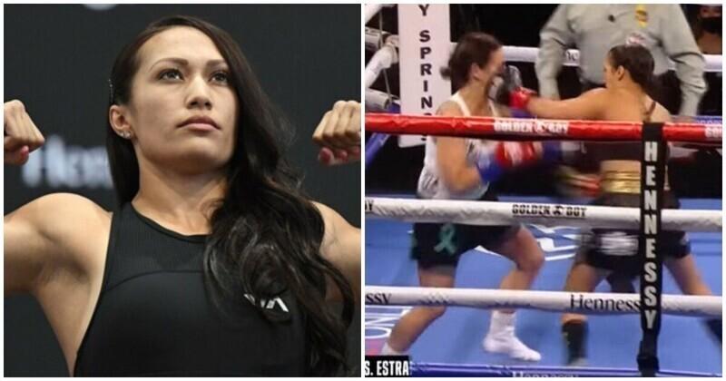 Американка установила рекорд по самому быстрому нокауту в женском боксе