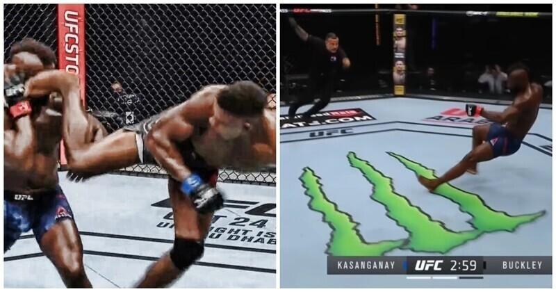 """Американский боец победил """"самым невероятным нокаутом в истории UFC"""""""