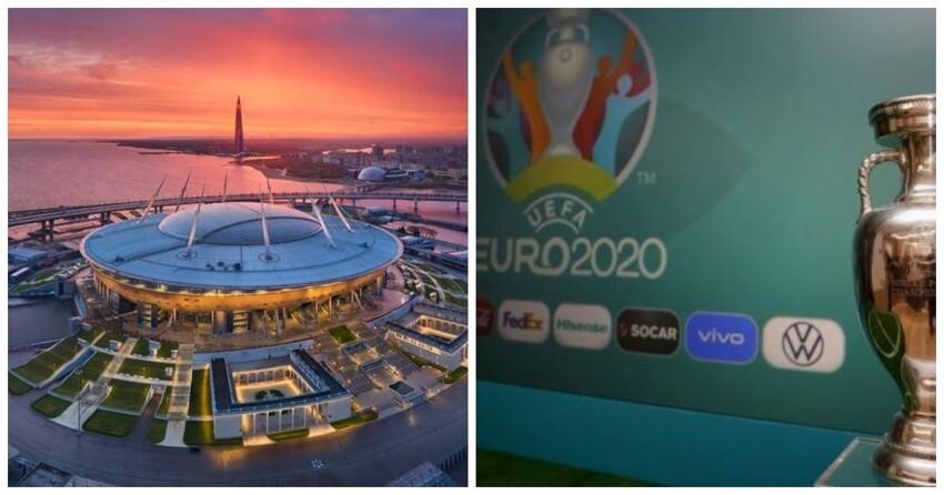 УЕФА подтвердил, что чемпионат Европы по футболу пройдет Петербурге и еще 11 городах